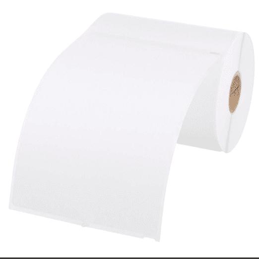AmazonBasics Multi-Purpose Labels, White, 4'' x 6'', 220 Labels Only $1.89