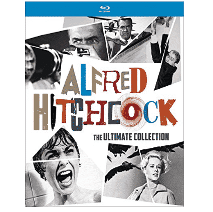 Alfred Hitchcock: The Ultimate Collection Blu-ray Only $59.99 (Was $99.98)