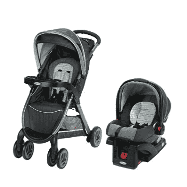 Graco FastAction Travel System Stroller Only $129.00 (Was $219.99)