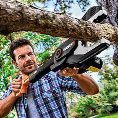 Worx JawSaw 20V PowerShare Cordless Electric Chainsaw Only $35.00 (Was $99.99)