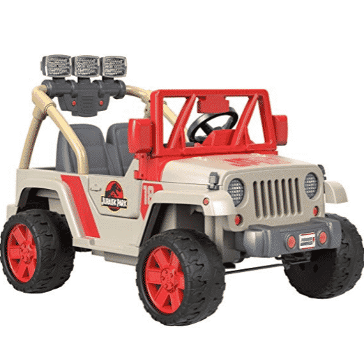 Power Wheels Jurassic World, Jeep Wrangler Only $246