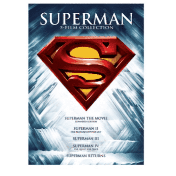 Superman 5 Film Collection Only $9.74