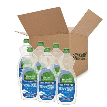 Extra 35% off Two Seventh Generation Items - Dish Soap Only $1.73