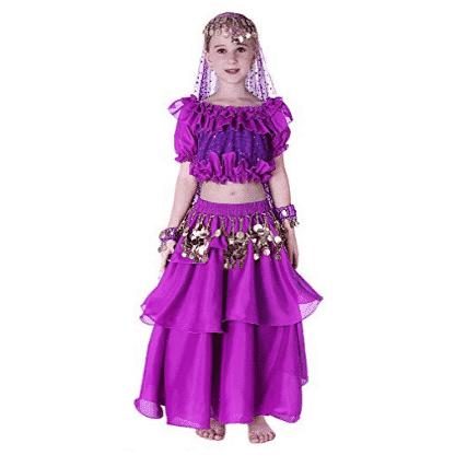 Kids Genie Costume Girls Top Model Dance Costume Only $16.49