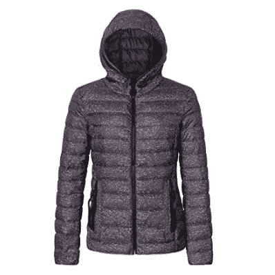 Bellivera Womens Puffer Jacket with Hood Only $31