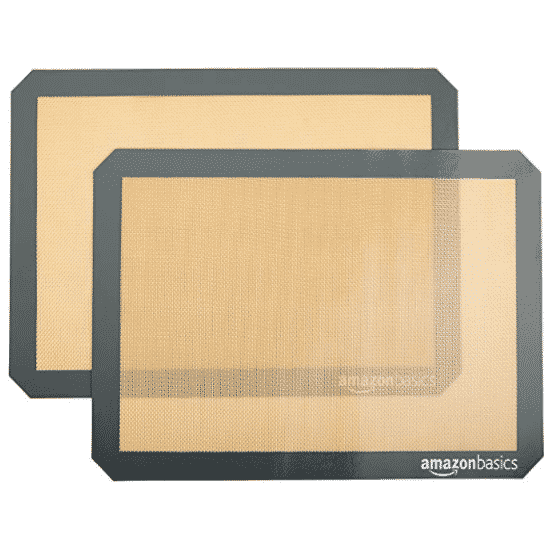 2 Pack of AmazonBasics Silicone Baking Mats Only $8.37 - $4.18 Each
