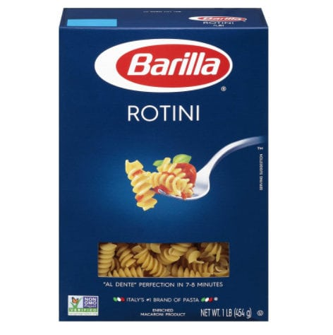 Barilla Pasta, Rotini, 16 Ounce (Pack of 12) Only .40