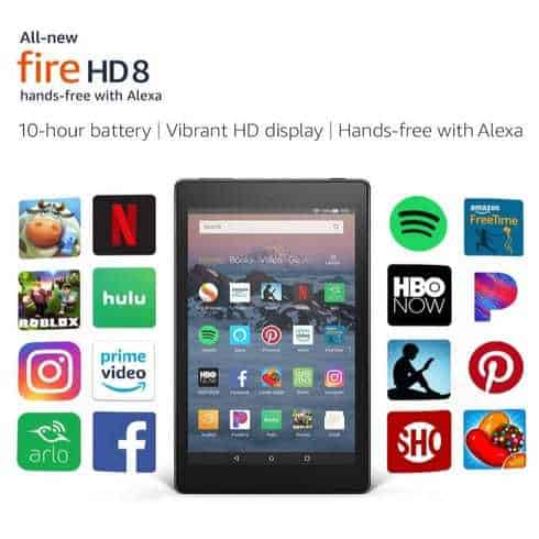 All-New Fire HD 8 Tablet Hands-Free with Alexa $59.99 (Was $79.99)