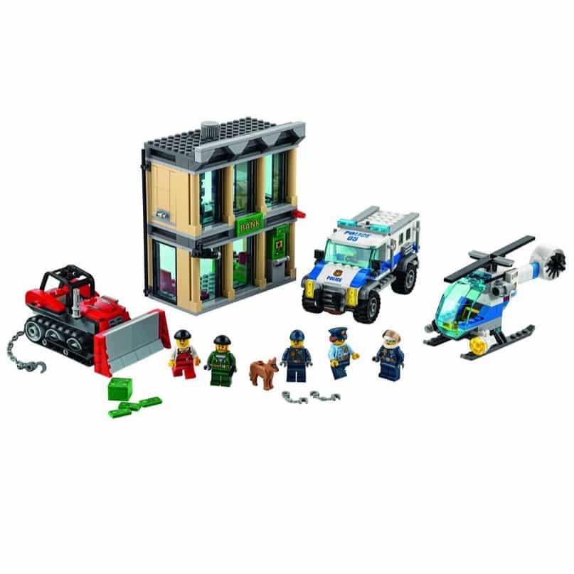 LEGO City Police Bulldozer Break-In Building Kit $43.99 (Was $69.99)