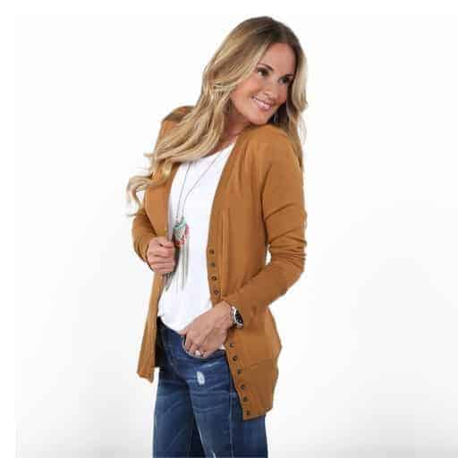 Snap Cardigan Only $13.99