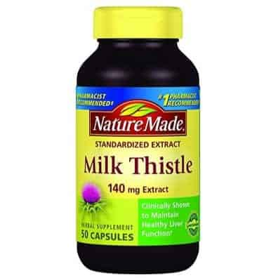 Nature Made Milk Thistle 50 Ct Only $3.64