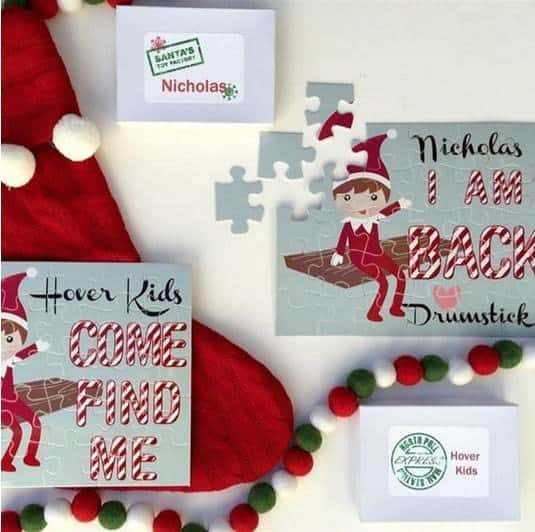 Personalized Elf Puzzle Only $12.99
