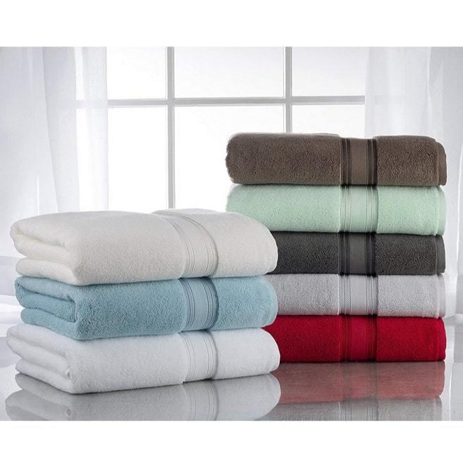 Casa Lino Luxury Collectio Quick Dry 6 Piece Bath Towel Set $25.99 **Today Only**