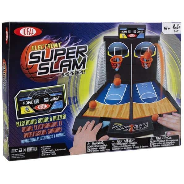 Ideal Electronic Super Slam Basketball Tabletop Game Only $19.39