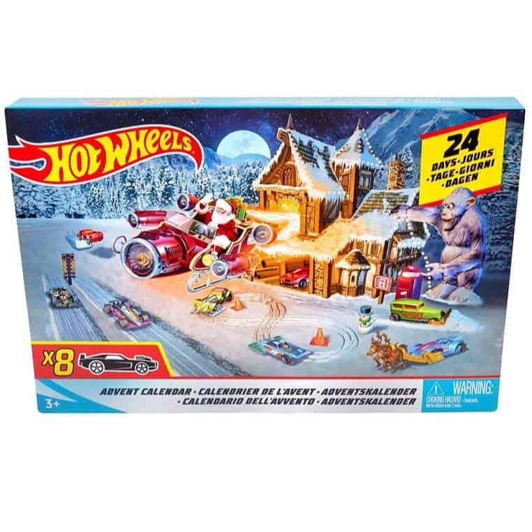 Hot Wheels Advent Calendar Only $19.99