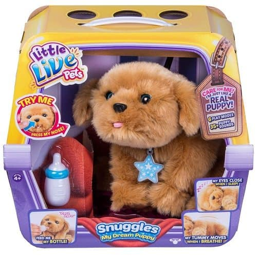 Little Live Pets Snuggles My Dream Puppy Only $27.89 (Was $57.99)