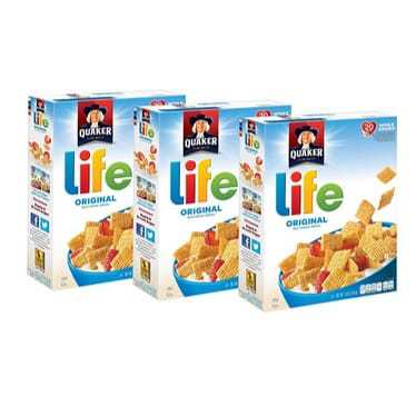 3-Pack Life Original 13oz Box Only $5.39