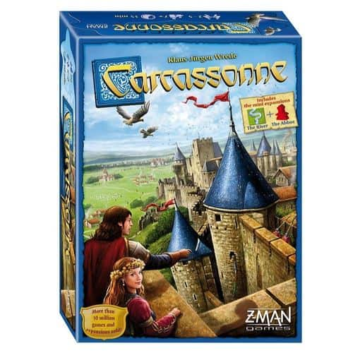 Z-Man Games Carcassonne Only $17.99 (Was $34.99)
