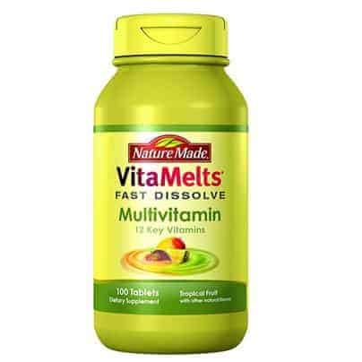 Nature Made VitaMelts Fast Dissolve Multivitamin 100ct Only $4.40