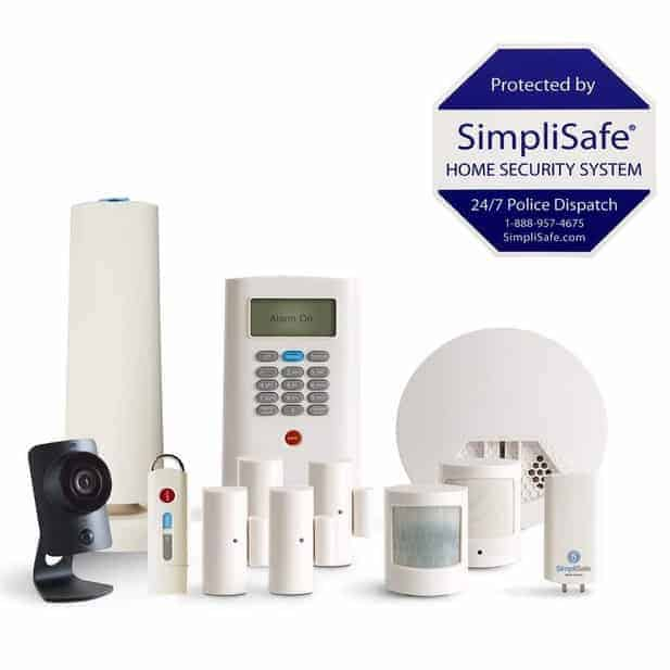 SimpliSafe 12-Piece Home Security System with HD Camera & Smoke Detector Only $199.99 (Was $569.99)