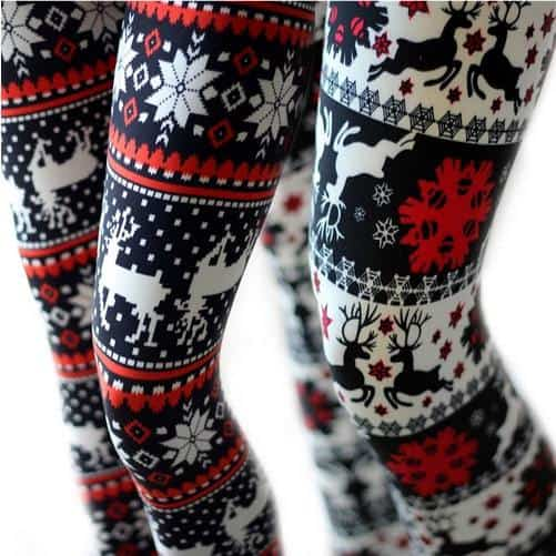 Ultra Soft Holiday Leggings Only $8.99 Each ~ 30+ Styles Available!