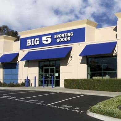 $20 Voucher to Spend at Big 5 Sporting Goods ONLY $10
