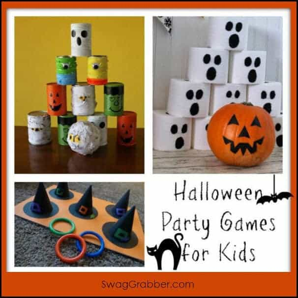 Home Made Halloween Party Games for Kids