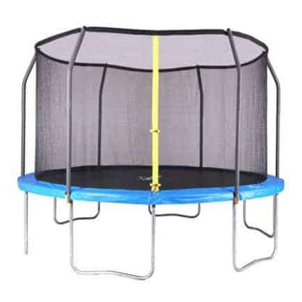 Airzone 14-Foot Trampoline, with Safety Enclosure, Blue Only $189 (Was $390)