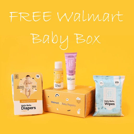 FREE Walmart Baby Box for Creating Baby Registry