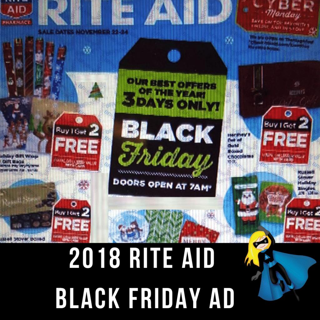 2018 Rite Aid Black Friday Ad Scan