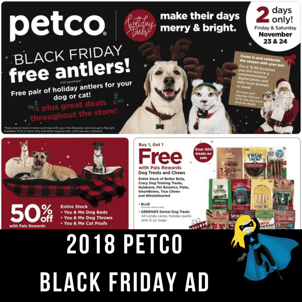 2018 Petco Black Friday Ad Scan