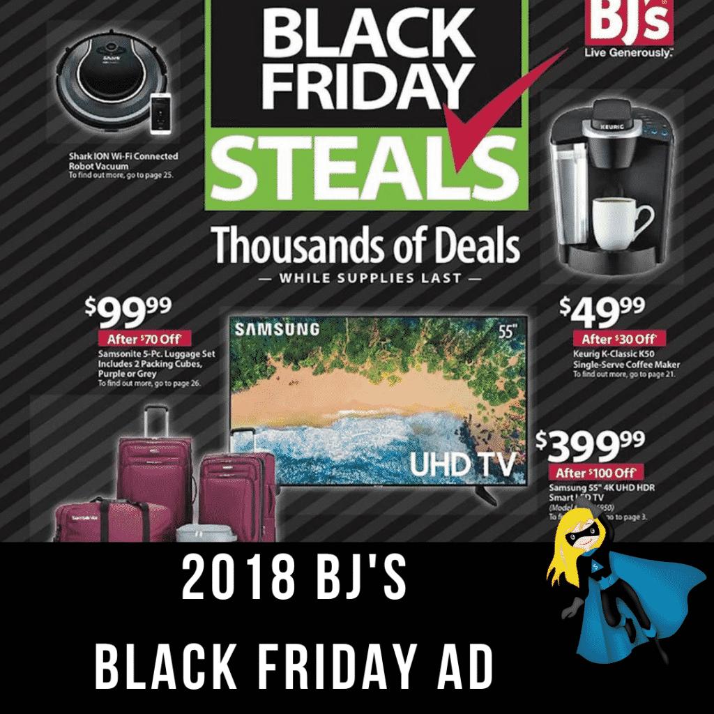 2018 BJ's Black Friday Ad Scan