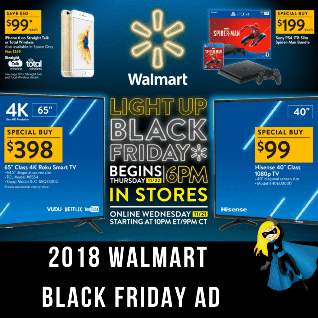 2018 Walmart Black Friday Ad Scan is OUT!