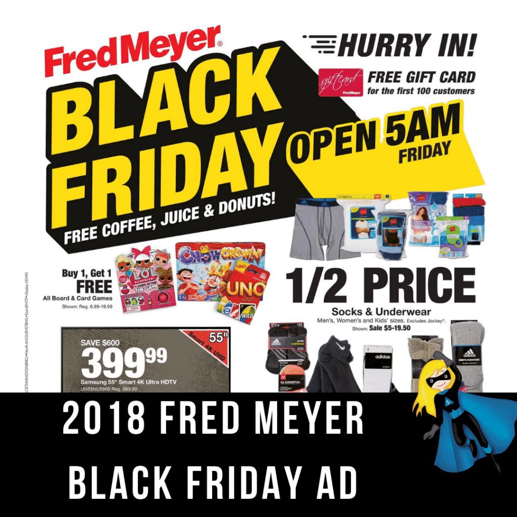 2018 Fred Meyer Black Friday Ad Scan