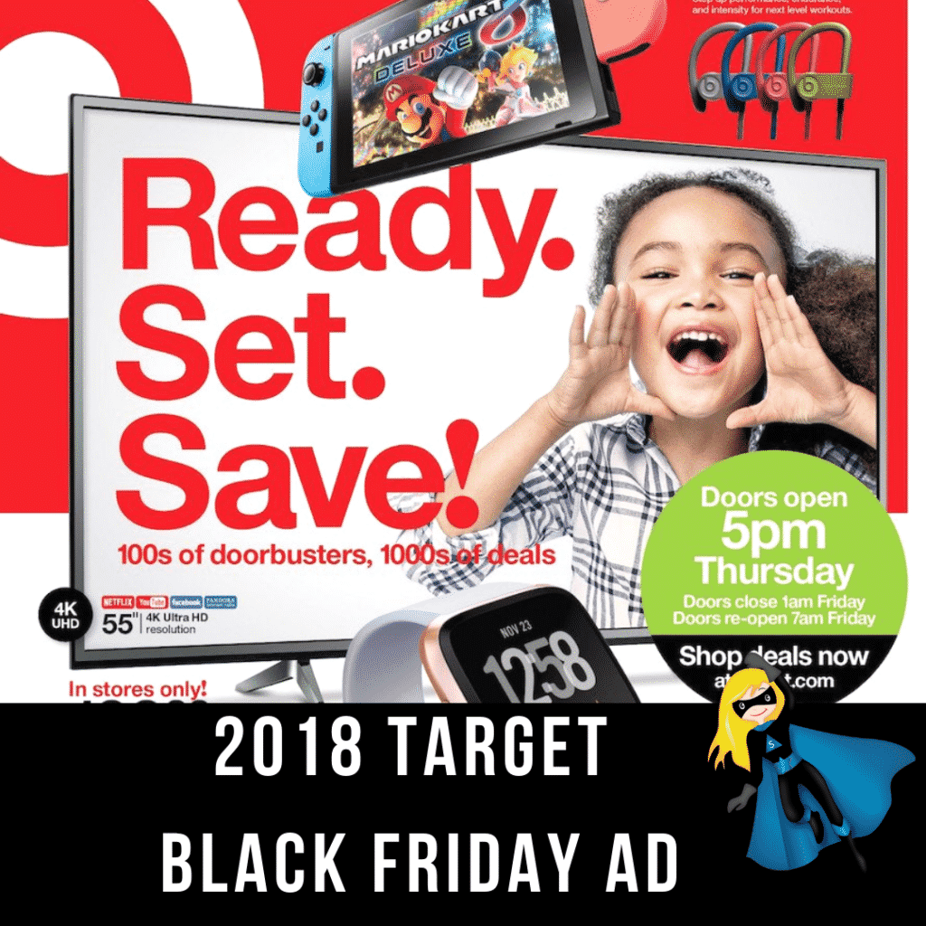 2018 Target Black Friday Ad Scan Has Been Leaked!