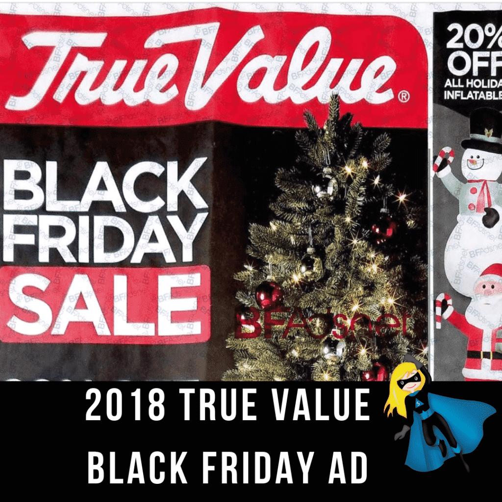 2018 True Value Black Friday Ad Scan