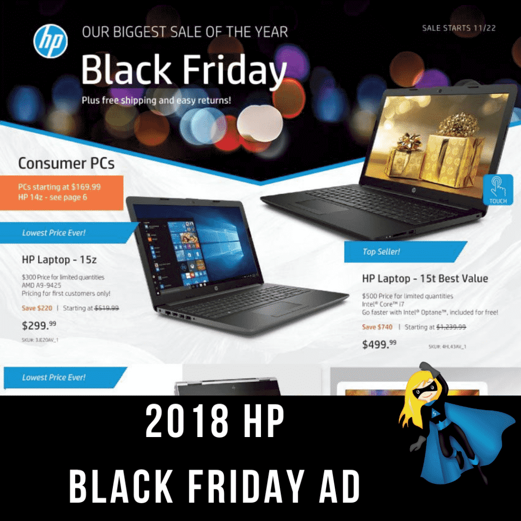2018 HP Black Friday Ad Scan