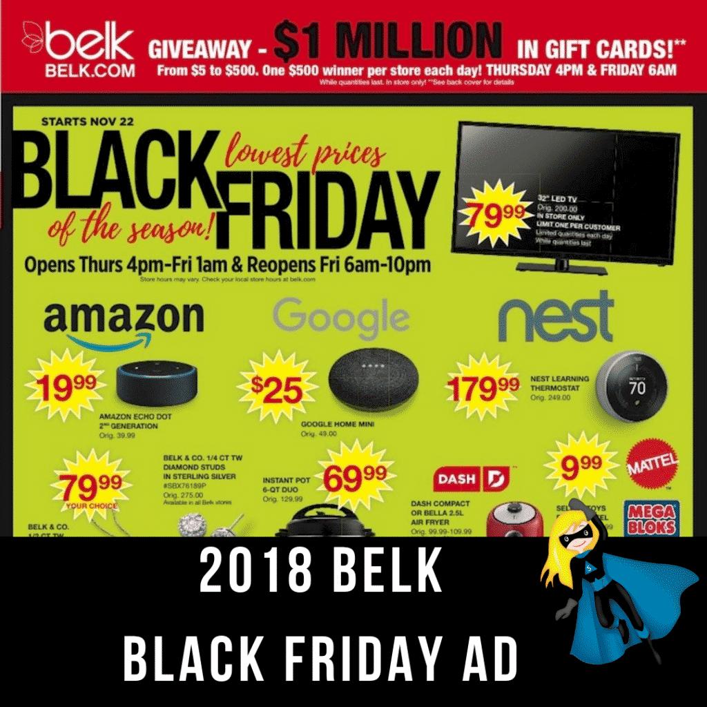 2018 Belk Black Friday Ad Scan