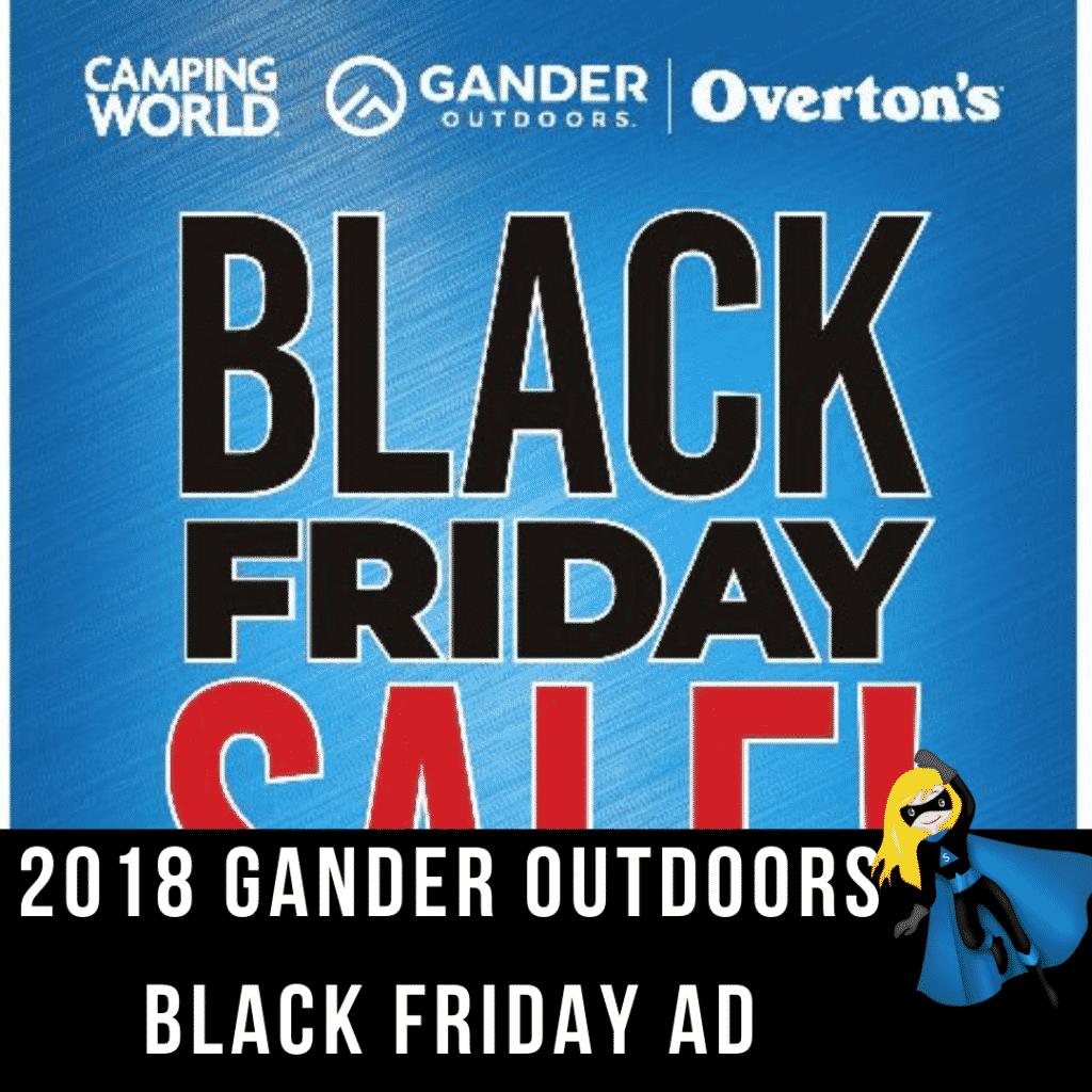 2018 Gander Outdoors Black Friday Ad Scan