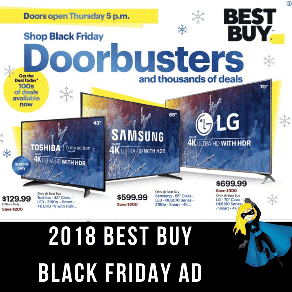2018 Best Buy Black Friday Ad Scan