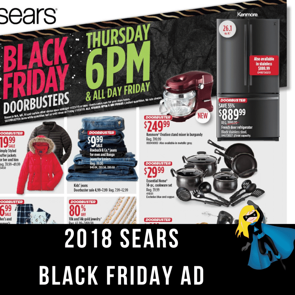 2018 Sears Black Friday Ad Scan