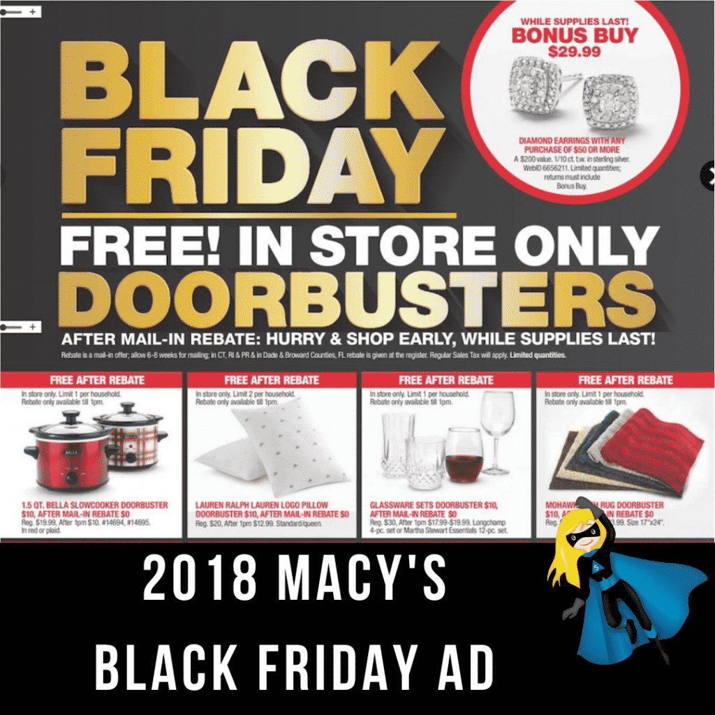 2018 Macy's Black Friday Ad Scan