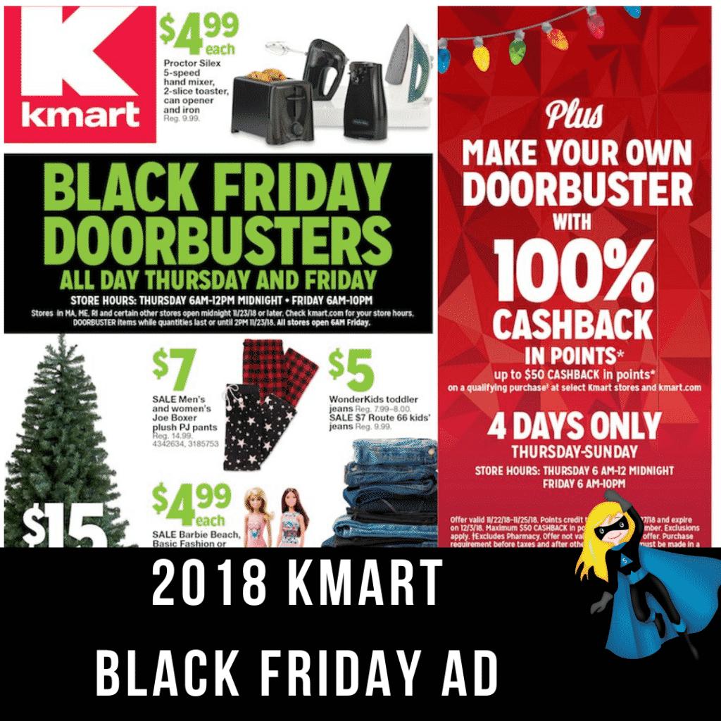 2018 KMart Black Friday Ad Scan