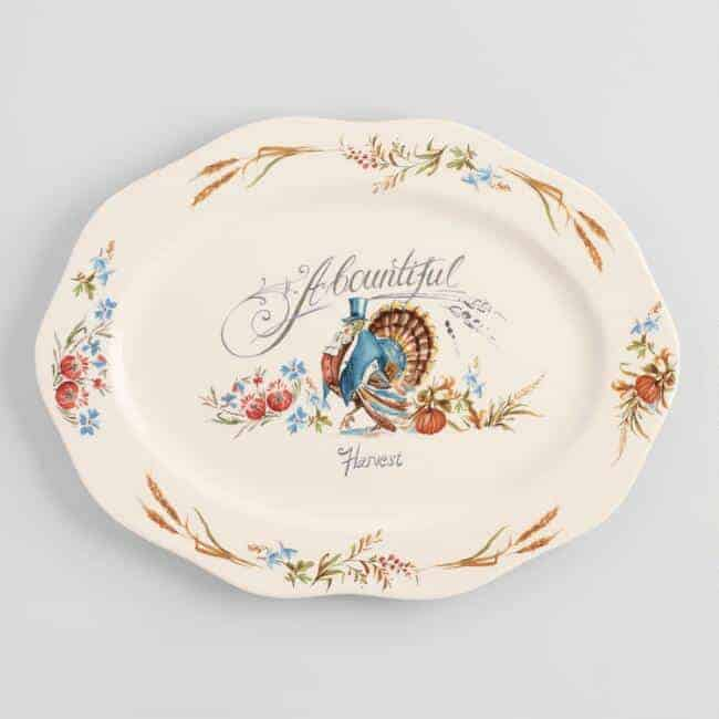 World Market: 50% off Thanksgiving Platters and Gadgets