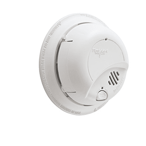 HURRY!! First Alert Smoke Detector Alarm | Hardwired with Backup Battery Only $4.99 (Was $23.99)
