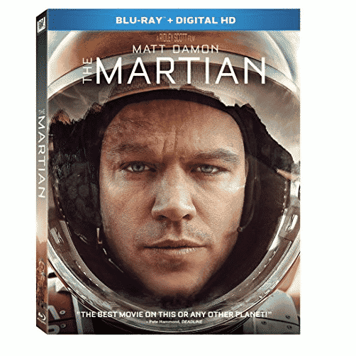 The Martian Blu-ray Only $3.99 (Was $16.99)