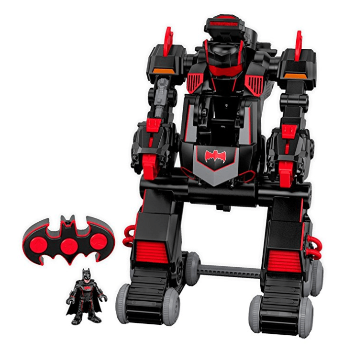 Fisher-Price Imaginext DC Super Friends, R/C Transforming Batbot Only $34.68 (Was $69.99)