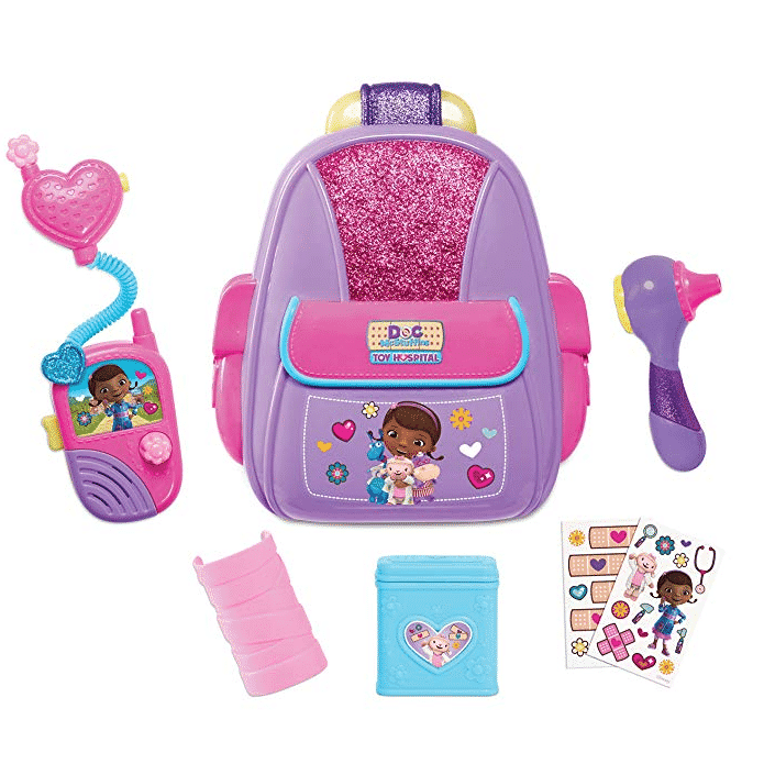 Doc McStuffins First Responders Backpack Set Only $9.59 (Was $19.99)