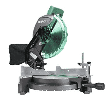 "Hitachi C10FCG 15-Amp 10"" Single Bevel Compound Miter Saw Only $79.00 (Was $119.00)"