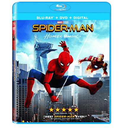 Spider-Man: Homecoming Blu-ray Only $5.99 (Was $19.99)